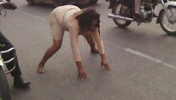 Naked women in street 13